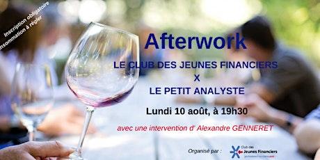 AFTERWORK du Club des Jeunes Financiers x Le Petit Analyste billets