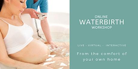 Live Online Waterbirth Workshop - 2hrs tickets