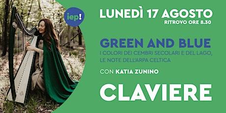 Green and Blue biglietti