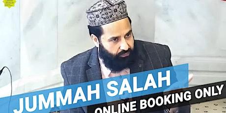 2nd Jummah Prayer | 2:15PM | 7th August | Arabic | Imam Rashid ul Malik tickets