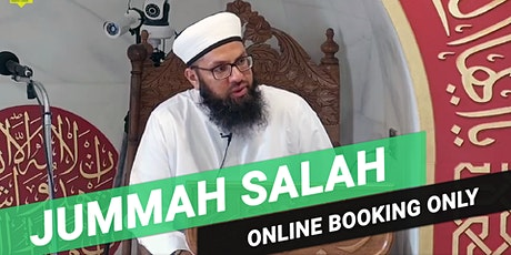 3rd Jummah Prayer | 3:00PM | 7th August | Arabic | Imam Mohammed Amar tickets