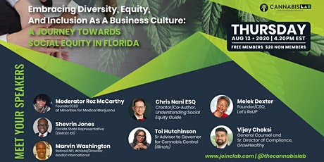 Embracing Diversity, Equity, and Inclusion as a Canna Business Culture tickets
