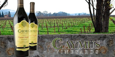 Caymus Wine Dinner tickets