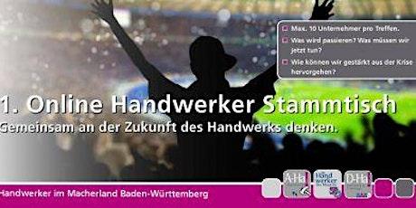 1. Online Handwerker Stammtisch Tickets