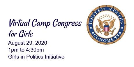 Virtual Camp Congress for Girls tickets