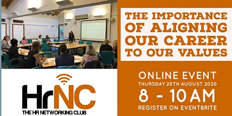 HRNC Event - The Importance Of Aligning Our Career With Our Values tickets