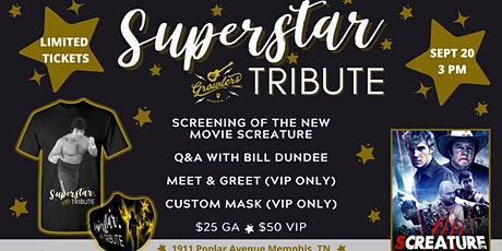 Superstar Tribute with Bill Dundee tickets