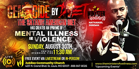 The SATANIC AMERICAN DIET Has Created An Epidemic Of MENTAL ILLNESS tickets