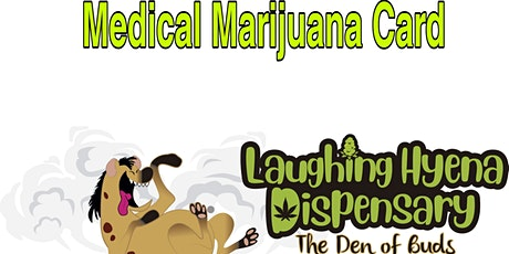 Laughing Hyena Dispensary MMJ Patient Drive tickets