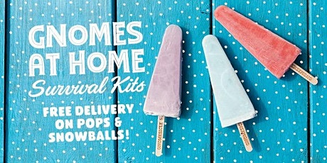 Gnome Come Snowballs & Popsicles Delivery tickets
