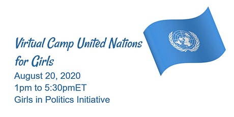 Virtual Camp United Nations for Girls tickets