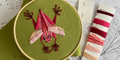 Sarah Fox Embroidery Workshop (online) tickets