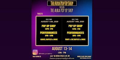 The Aura: Pop-up Shop tickets