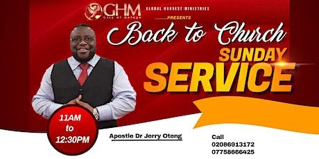 Sunday Service tickets