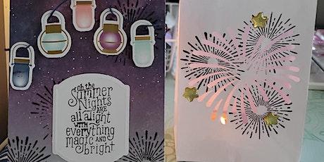 Summer Nights Mason Jar & Cards Workshop tickets