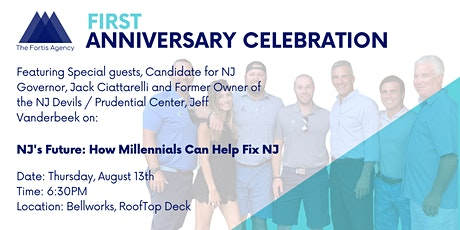 Fortis 1st Year Anniversary: Featuring Jack Ciattarelli and Jeff Vanderbeek tickets