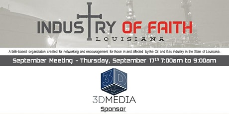 September 2020 Industry of Faith Breakfast tickets
