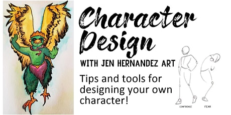 Character Design - Drawing and Writing for Young Artists tickets