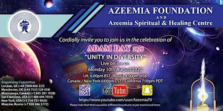 Adam Day - Unity in Diversity tickets