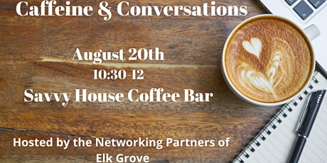 Coffee & Conversations, Social Distancing Style tickets