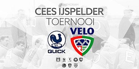 I.M. Cees IJspelder Toernooi : Quick - VELO tickets
