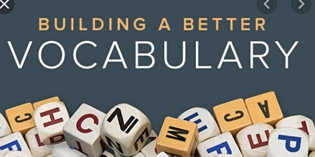 Building a Better Vocabulary Free Masterclass tickets