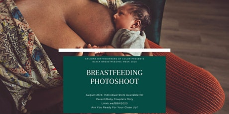 Latch and Pose! A Breastfeeding Photoshoot - Black Breastfeeding Week tickets