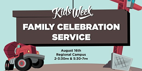 Kids Week Family Celebration Service tickets