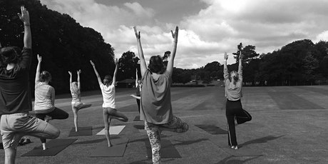 Saturday  Outside Yoga - (meet at The Cricket Club, Cricketfield Lane B/S) tickets