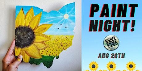 Sunflower Ohio | Paint Night! tickets