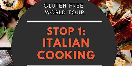 Gluten Free World Tour - Stop 1: Italy tickets