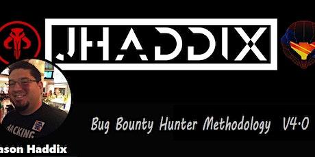 Bug Bounty Hunter Methodolog tickets
