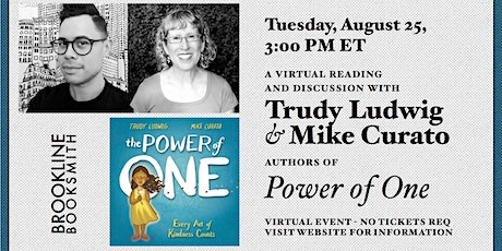 Trudy Ludwig and Mike Curato storytime: The Power of One tickets