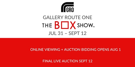 THE BOX SHOW™ 2020: Gallery Route One's 21st Annual Fundraiser tickets