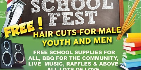 SCHOOL IS COOL ANNUAL BACK TO SCHOOL FEST tickets