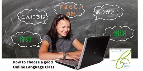 Online Japanese and Chinese Classes for professionals tickets