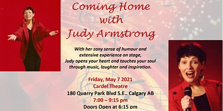Coming Home - A Concert with Judy Armstrong - Rescheduled tickets