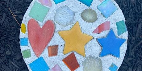 Make a garden mosaic: Outdoor art class all ages tickets