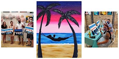 "BYOB Sip & Paint Class ""Hammock on the Beach"" tickets"