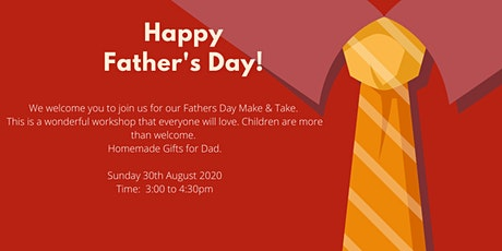 Fathers Day Make & Take tickets
