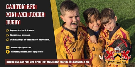 Introductory training camp- Canton RFC Under 14s tickets