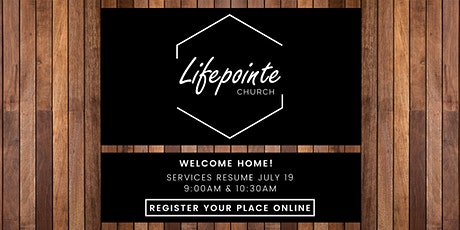 Lifepointe 9:00 AM Service tickets