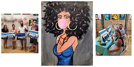 "BYOB Sip & Paint Class ""Bubble Gum Girl"" tickets"