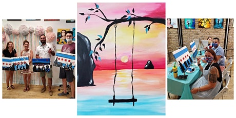 """BYOB Sip & Paint Class """"Swing in the Sunset"""" tickets"""