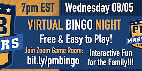 PM Virtual BINGO  - FREE Family Game Night tickets