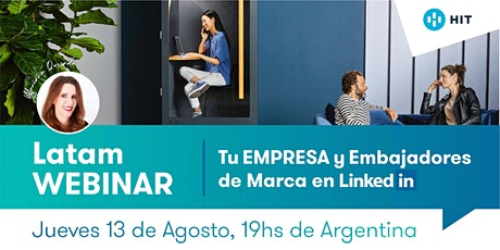 """""""Tu EMPRESA y Embajadores de Marca en LinkedIn"""" - HIT Cowork tickets"""