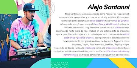 Composición Musical Digital - Clase Online Abierta y Gratuita  entradas