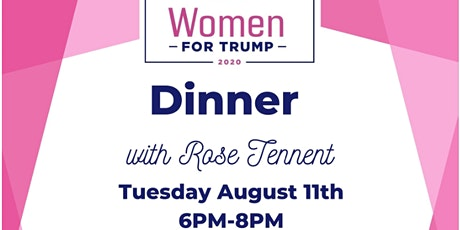 You're invited to Women For Trump Dinner at Ferrantes Lakeview  Greensburg tickets