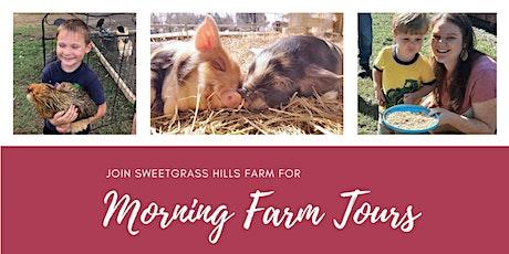Sweetgrass Hills Morning Farm Tour tickets