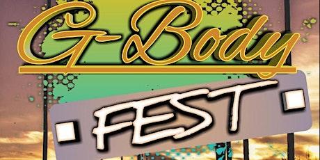 G body Fest 2020 tickets